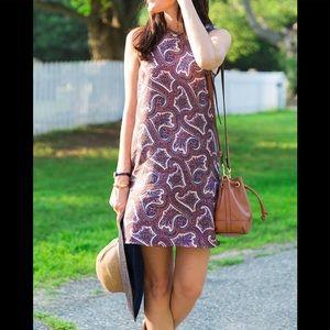 Theory Brindina Veranda Paisley dress size 6